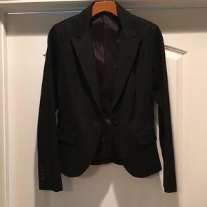 New women's size 6, black suit jacket
